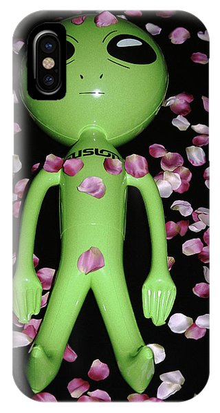 Alien Beauty IPhone Case