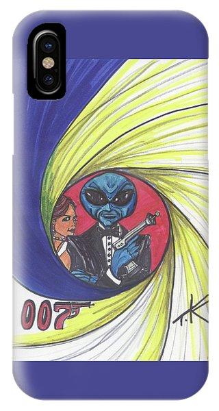alien Bond IPhone Case