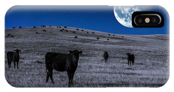 Alien Cows IPhone Case