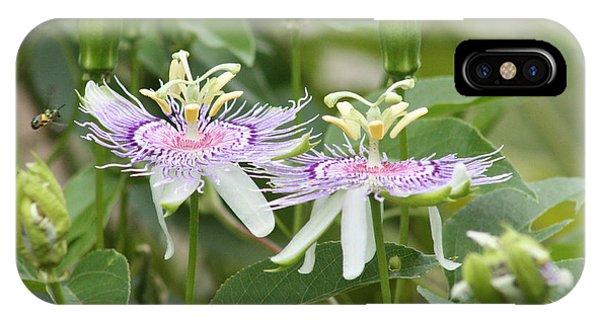 Alien Flower IPhone Case