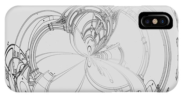 Alien Flywheel IPhone Case