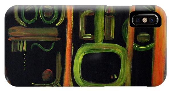 Alien Interception Phone Case by Lynda Lehmann