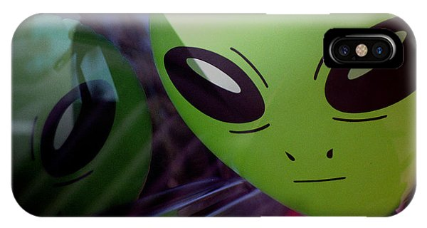 Alien Is Closer Than He Appears IPhone Case