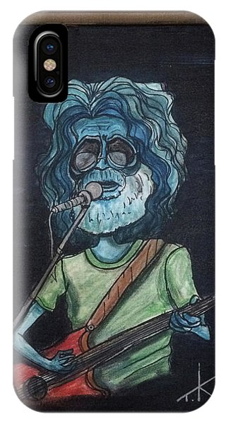 Alien Jerry Garcia IPhone Case