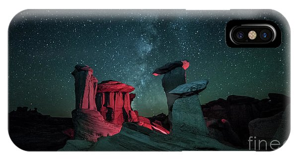 IPhone Case featuring the photograph Alien Landscape by Brian Spencer
