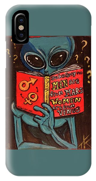 Alien Looking For Answers About Love IPhone Case