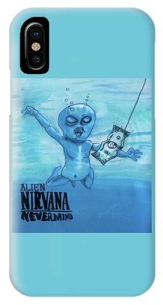 Alien Nevermind IPhone Case