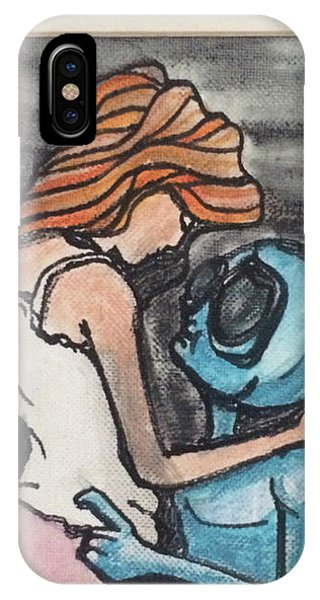 Alien Seduction IPhone Case