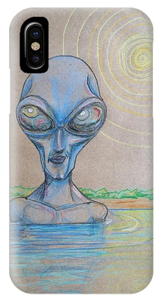 Alien Submerged IPhone Case