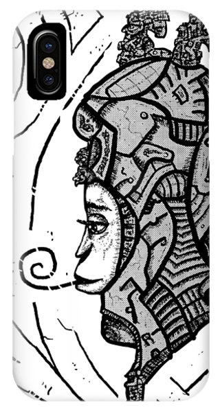 Alien Woman IPhone Case