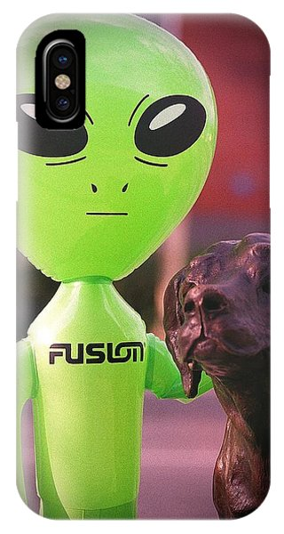 Alien's Best Friend IPhone Case