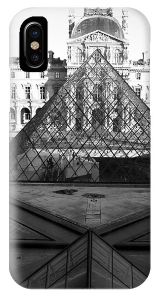 Aligned Pyramids At The Louvre IPhone Case