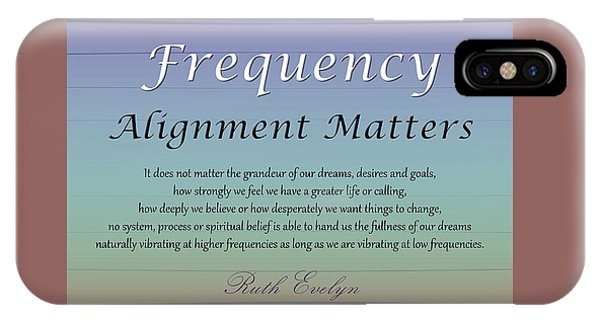 Alignment Matters IPhone Case