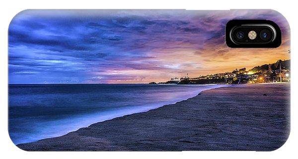 Aliso Beach Lights IPhone Case