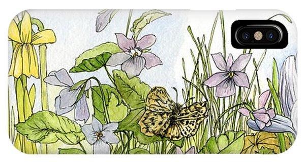 Alive In A Spring Garden IPhone Case