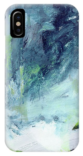 All Around You- Abstract Art By Linda Woods IPhone Case