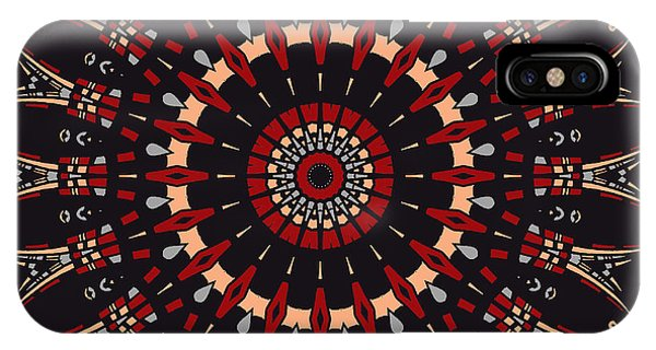 IPhone Case featuring the digital art All Arrows Hit The Bullseye by Joy McKenzie