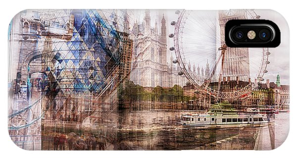 all famous building of London IPhone Case