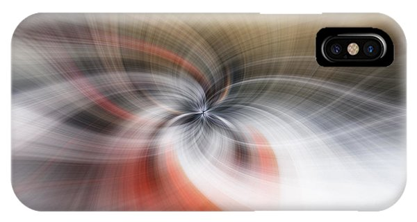 Spin iPhone Case - All In A Spin by Nigel Jones