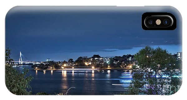 IPhone Case featuring the photograph All Lit Up by Elaine Teague