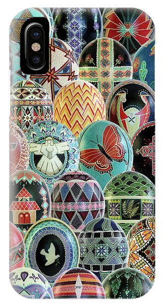 All Ostrich Eggs Collage IPhone Case