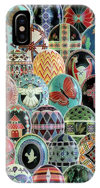 All Ostrich Eggs Collage 16x20 IPhone Case