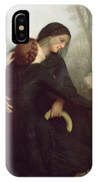 All In The Family iPhone Case - All Saints Day by William Adolphe Bouguereau