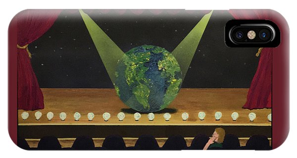All The World's On Stage IPhone Case