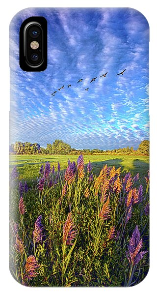 All Things Created And Held Together IPhone Case