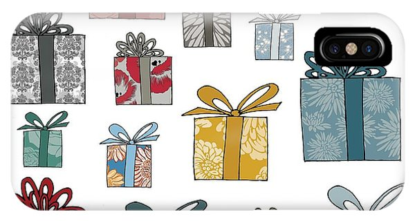 Christmas iPhone Case - All Wrapped Up by Sarah Hough