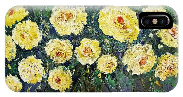 All Yellow Roses IPhone Case