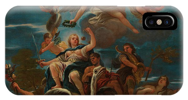 Fairness iPhone Case - Allegory Of Justice by Luca Giordano