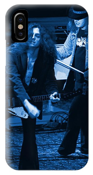 Allen Collins And Ronnie Van Zant Same Old Winterland Blues IPhone Case