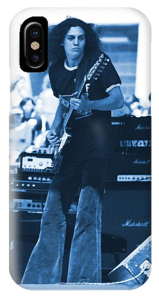 Allen Collins In Blue Oakland 1975 IPhone Case