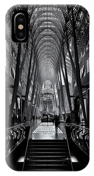 IPhone Case featuring the photograph Allen Lambert Galleria Toronto Canada No 1 by Brian Carson