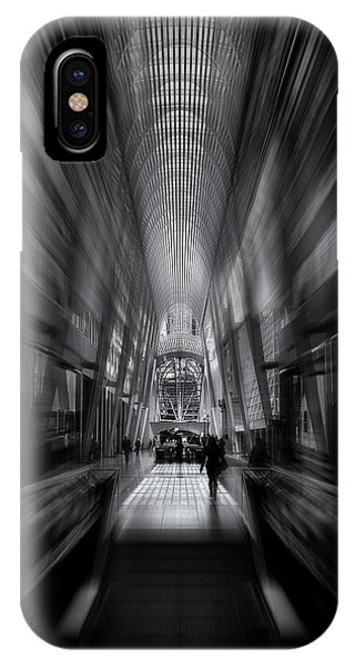 IPhone Case featuring the photograph Allen Lambert Galleria Toronto Canada No 1 Flow Version by Brian Carson