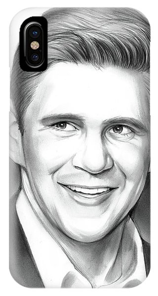 Irish iPhone Case - Allen Leech by Greg Joens