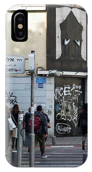 iPhone Case - Allenby Street by Steven Richman