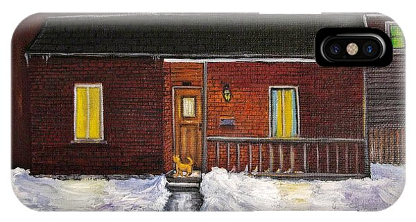 Alley Cat House IPhone Case