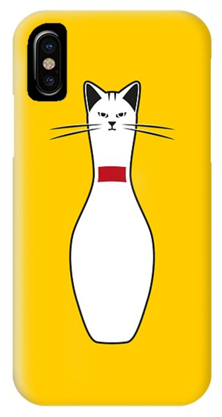 Cute iPhone Case - Alley Cat by Nicholas Ely