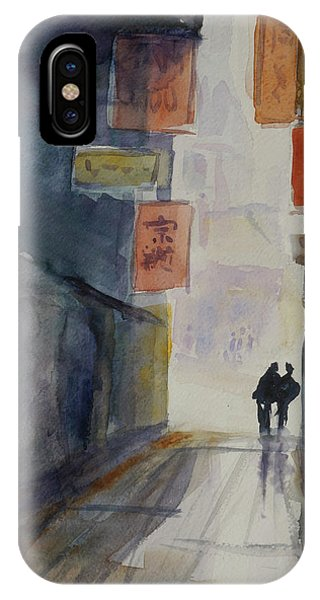 Alley In Chinatown IPhone Case