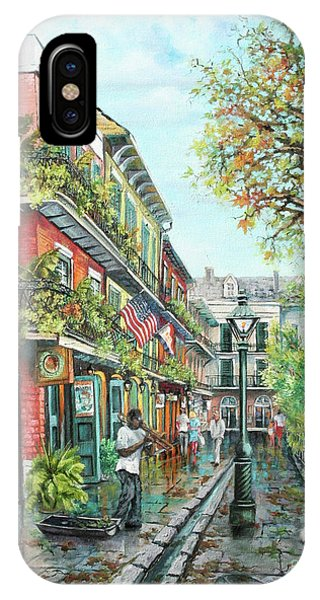 Alley Jazz IPhone Case