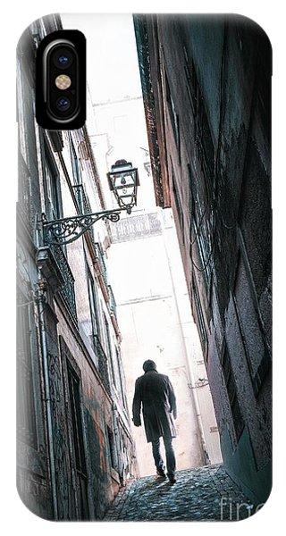 Alley Man IPhone Case