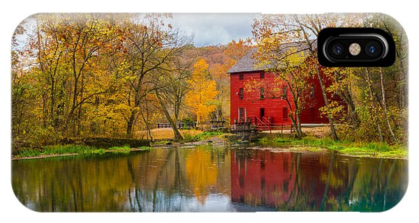Alley Mill And Spring IPhone Case