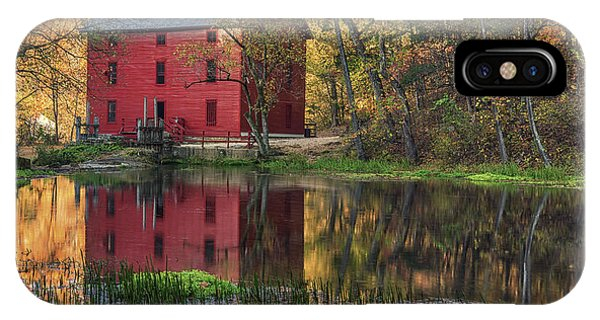 Alley Spring Mill Fall Mo Dsc09240 IPhone Case