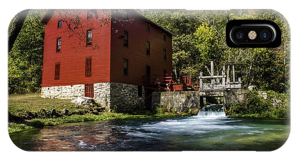 Alley Springs Mill 2 IPhone Case