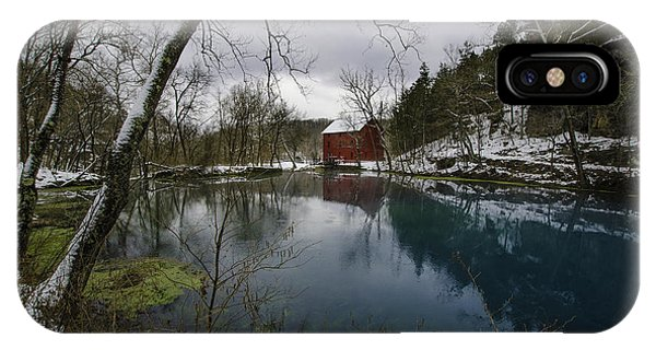 Alley Springs Mill IPhone Case
