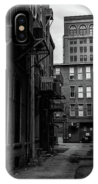 IPhone Case featuring the photograph Alleyway I by Break The Silhouette