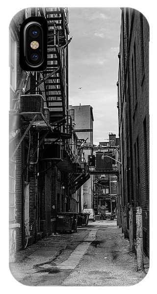 IPhone Case featuring the photograph Alleyway II by Break The Silhouette