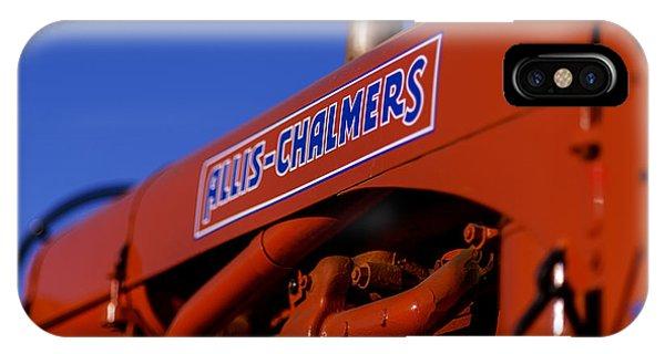 Allis-chalmers Vintage Tractor IPhone Case